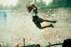 Eddie Vedder: still crazy after all these years.